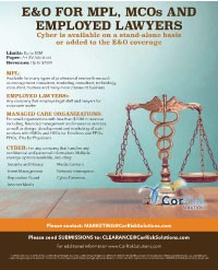 MPL, MCOs and Corporate Lawyers